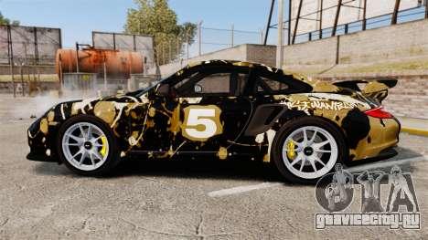 Porsche 911 GT2 RS 2012 BLOB для GTA 4 вид слева