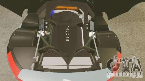 Jaguar C-X75 2014 [EPM] для GTA 4 вид изнутри