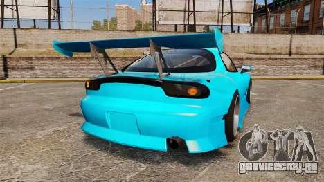 Mazda RX-7 Super Edition для GTA 4 вид сзади слева