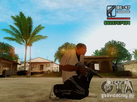 Пистолет-пулемёт UZI для GTA San Andreas второй скриншот