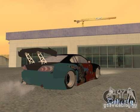 Nissan 150sx Evil Empire для GTA San Andreas вид слева