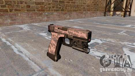 Пистолет Glock 20 Red Tiger для GTA 4