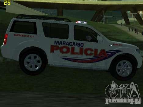 Nissan Pathfinder Polimaracaibo для GTA San Andreas салон