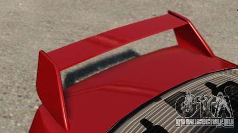 Mitsubishi Lancer Evolution IX для GTA 4 вид сзади слева