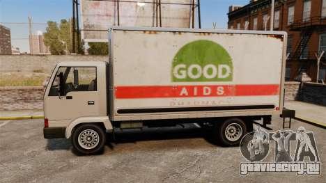 Mule с новой рекламой для GTA 4 вид изнутри
