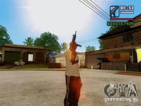 Пистолет-пулемёт UZI для GTA San Andreas седьмой скриншот