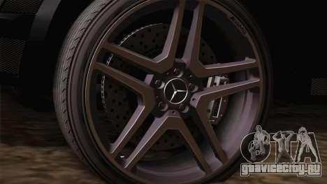 Mercedes-Benz ML63 для GTA San Andreas вид справа