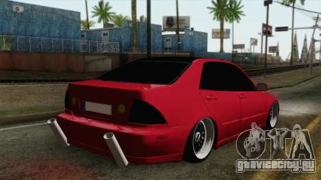 Lexus IS300 Tuning для GTA San Andreas вид слева