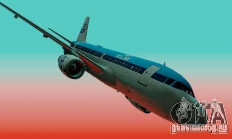 Airbus A319 KLM для GTA San Andreas