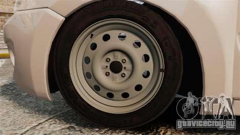ВАЗ-2190 Lada Granta для GTA 4 вид сзади