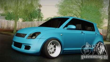 Suzuki Swift Hellaflush для GTA San Andreas