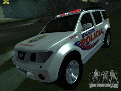 Nissan Pathfinder Polimaracaibo для GTA San Andreas