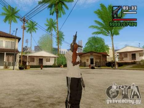 Пистолет-пулемёт UZI для GTA San Andreas восьмой скриншот