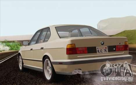 BMW M5 E34 1991 NA-spec для GTA San Andreas вид слева