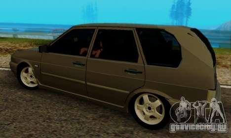 ВАЗ 2115 Универсал для GTA San Andreas вид справа