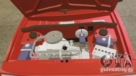 ВАЗ-2109 Спутник для GTA 4 вид изнутри