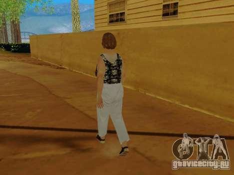 Пожилая женщина v.2 для GTA San Andreas седьмой скриншот