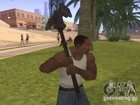 Baton Marker для GTA San Andreas