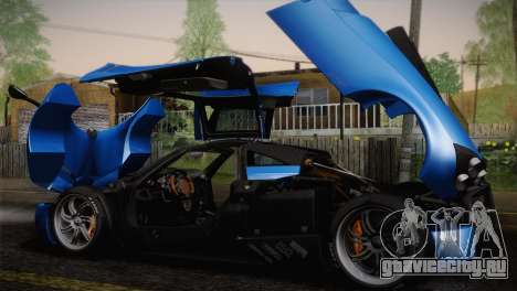 Pagani Huayra для GTA San Andreas двигатель