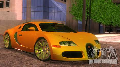 Bugatti Veyron 2009 для GTA San Andreas