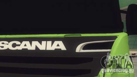 Scania 310 Bau для GTA San Andreas вид справа