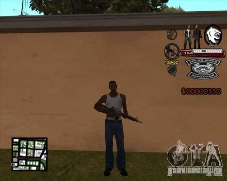 C-HUD Bikers для GTA San Andreas третий скриншот