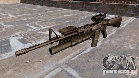 Тактическая винтовка M16A4 для GTA 4