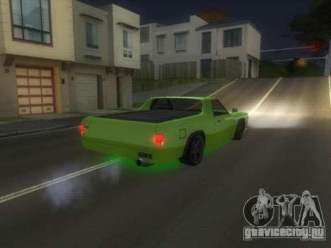 Drag Picador v1 для GTA San Andreas вид сзади слева
