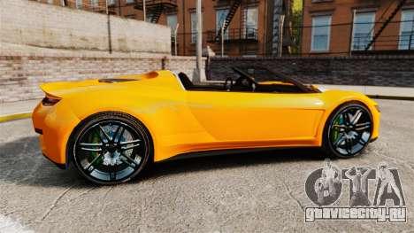 GTA V Dinka Jester HD для GTA 4 вид слева