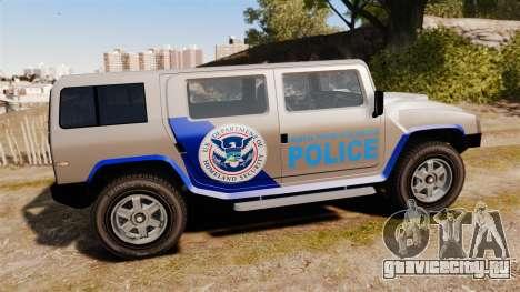 Patriot Police v2.0 для GTA 4 вид слева