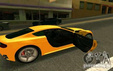 GTA V Dewbauchee Rapid GT Coupe для GTA San Andreas вид справа