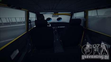 ВАЗ 2106 The Cars для GTA San Andreas вид справа