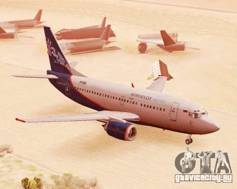 Boeing 737-500 Аэрофлот Норд для GTA San Andreas