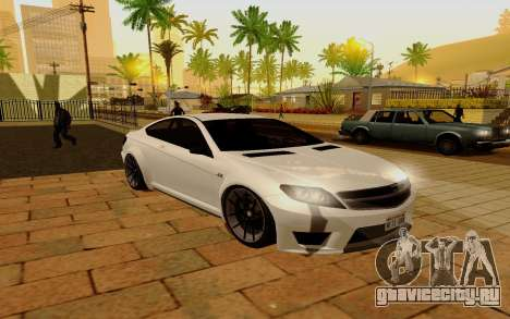 Benefactor Schwarzer для GTA San Andreas
