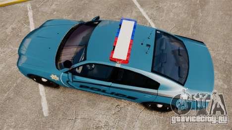Dodge Charger 2011 LCPD [ELS] для GTA 4 вид справа