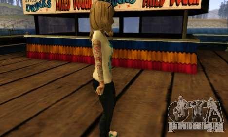 Catrina Skin для GTA San Andreas четвёртый скриншот