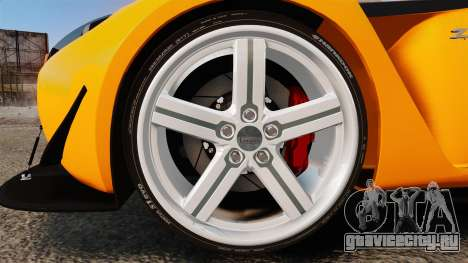 Aston Martin V12 Zagato для GTA 4 вид сзади