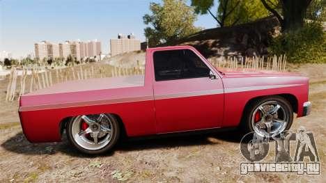 Rancher Lowride для GTA 4 вид слева