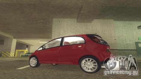 Mitsubishi i MiEV для GTA San Andreas вид слева