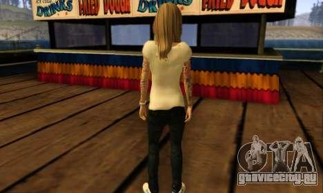 Catrina Skin для GTA San Andreas пятый скриншот