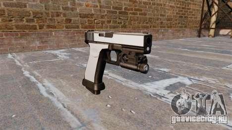 Пистолет Glock 20 Chrome для GTA 4