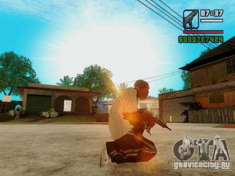Пистолет-пулемёт UZI для GTA San Andreas четвёртый скриншот