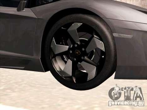 Lamborghini Aventador LP700-4 2013 для GTA San Andreas салон