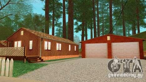 Домик в деревне для GTA San Andreas пятый скриншот
