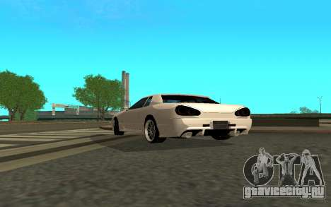 Elegy By Eweest v0.1 для GTA San Andreas вид сзади слева
