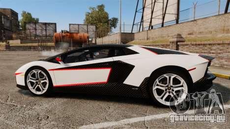 Lamborghini Aventador LP700-4 2012 Adidas Carbon для GTA 4 вид слева