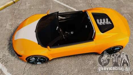 GTA V Dinka Jester HD для GTA 4 вид справа