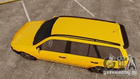 Volkswagen Parati G4 Track and Field 2013 для GTA 4 вид справа
