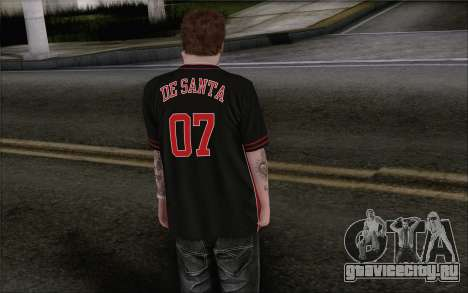Jimmy De Santa для GTA San Andreas второй скриншот