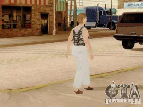 Пожилая женщина v.2 для GTA San Andreas одинадцатый скриншот